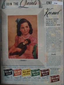 Kre Mell Dessert Emilie Of The Quints 1941 Ad