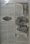 Royal Baking Powder 1919 Ad