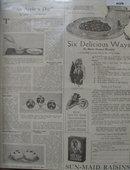 Sun Maid Raisins 1921 Ad