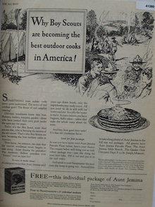 Aunt Jemima Pancake Flour 1928 Ad