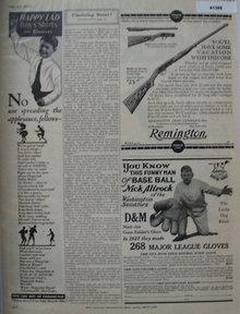 Remington Arms Co. 1928 Ad