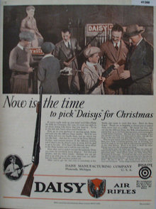 Daisy Air Rifles 1929 Ad