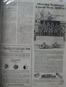 Western Ammunition 1937 Ad