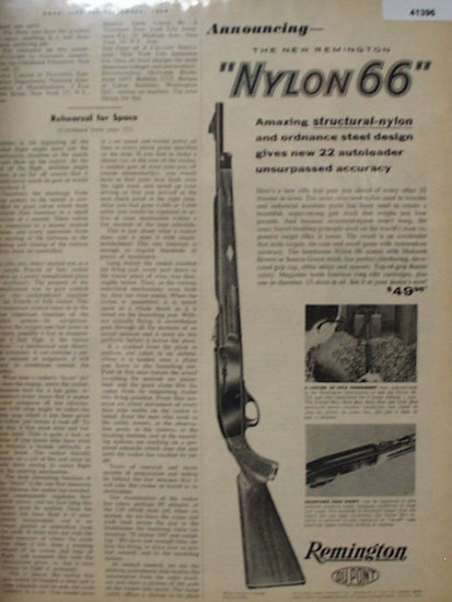 Remington Du Pone Rifle 1959 Ad