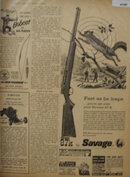 Stevens 87K By Savage Rifle 1960 Ad