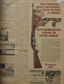 Remington Nylon 76 Trail Rider Gun 1962 Ad
