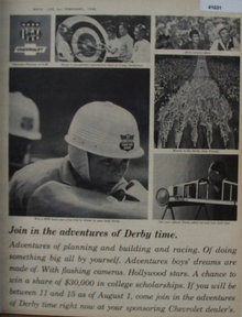 Chevrolet Derby Time 1965 Ad