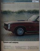 Chevrolet Camaro 1968 Ad