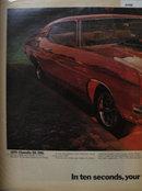 Chevrolet Chevelle 1969 Ad