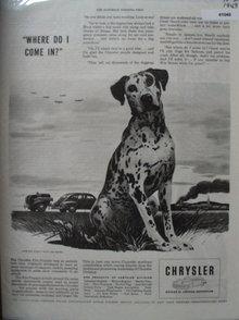 Chrysler Division of Chrysler Corporation 1943 Ad