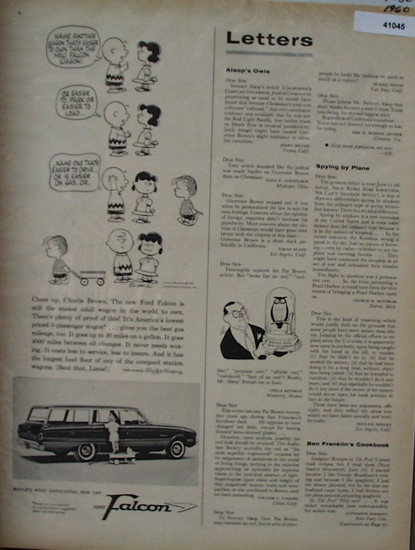Ford Falcon 1960 Ad