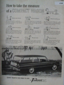 Ford Falcon 1960 Ad