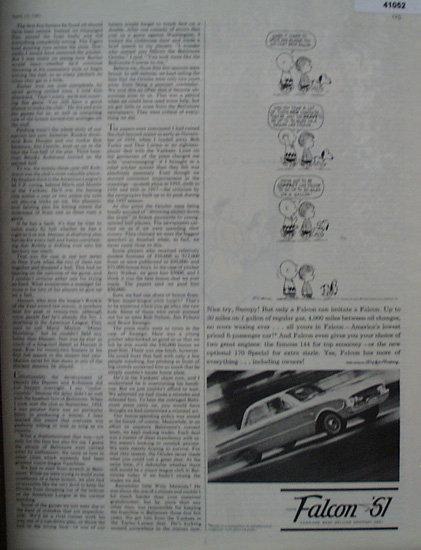 Ford Falcon 1961 Ad