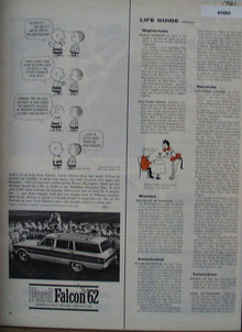 Ford Falcon Car 1961 Ad
