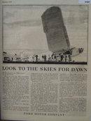 Ford Motor Company Aviation 1927 Ad