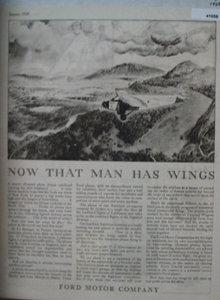 Ford Motor Company Aviation 1928 Ad