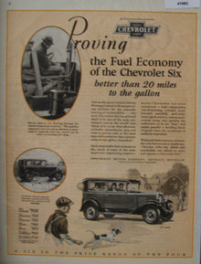 Chevrolet Division of General Motors Corp. 1929 Ad