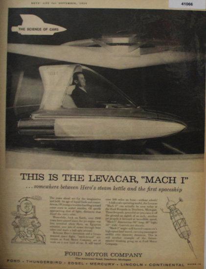 Ford Motor Company 1959 Ad