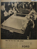 Ford Galaxie 500 Convertible 1963 Ad