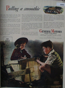 General Motors Victory Is Our Business 1944 Ad