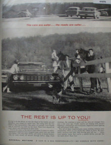 General Motors Cars 1960 Ad