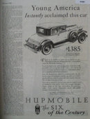 HupMobile The Six Of The Century Car 1928 Ad