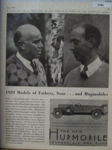 Hupmobile Century Car 1929 Ad