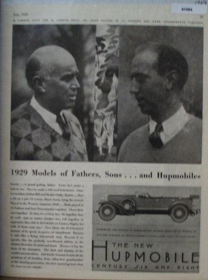 Hupmobile Century Car 1929 Ad