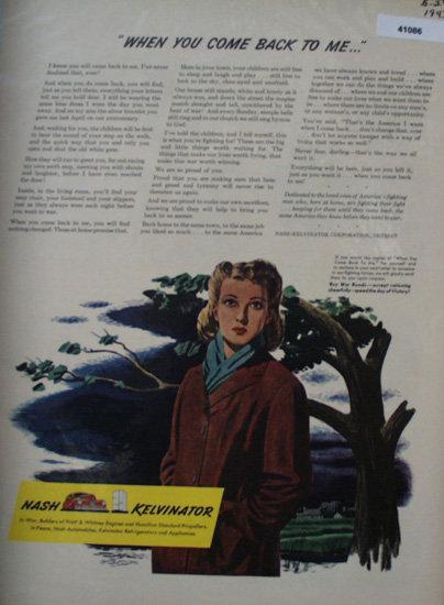 Nash Kelvinator Article 1943 Ad