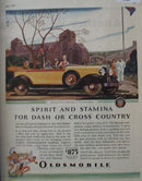 Oldsmobile Product Of General Motors 1929 Ad
