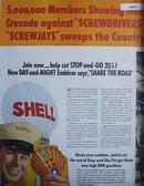 Shell Gasoline 1940 Ad