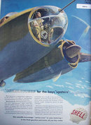 Shell Gasoline And Motor Oil 1942 Ad