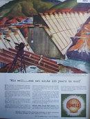 Shell Oil Shasta Dam 1942 Ad.