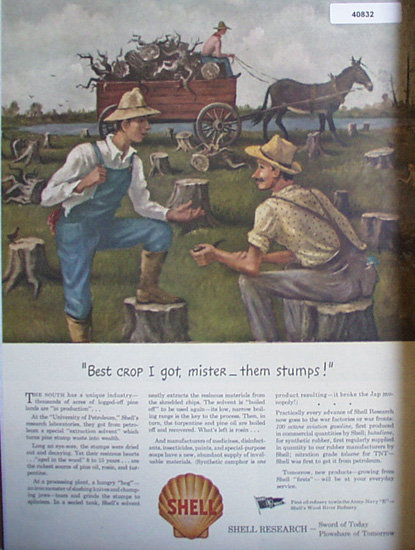Shell Research 1943 Ad