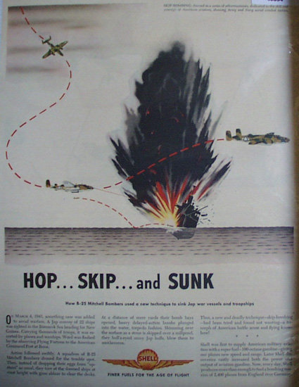 Shell Super Fuel 1943 Ad.