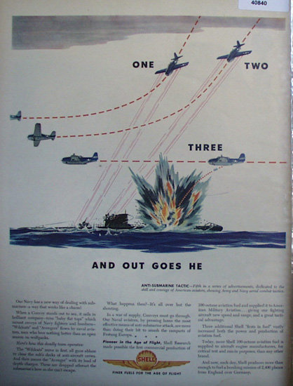 Shell Finer Fuels 1944 Ad