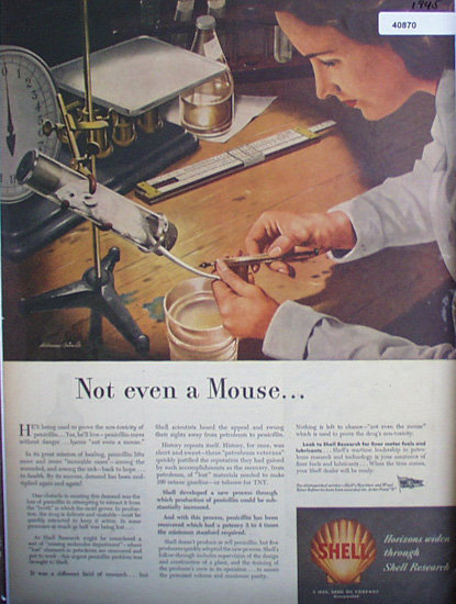 Shell Research 1945 Ad