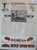 Dorfan Electric Trains 1928 Ad