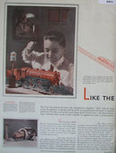 Lionel Electric Trains 1929 Ad