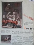 Lionel Electric Trains 1929 Ad