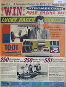 Strombecker Lucky Racer Contest 1963 Ad