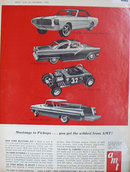 AMT Model Car Kits 1964 Ad Ford Mustang