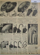 Sears Umbrellas And Rain Capes 1936 Ad