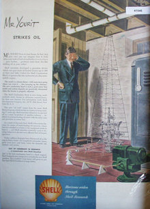 Shell Oil Research 1946 Ad Mr Yourit