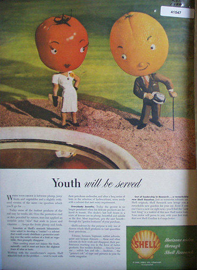 Shell Oil Research 1946 Ad youth will be saved