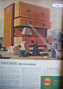 Shell Oil Research 1946 Ad tools and equipment