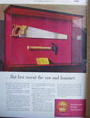 Shell Research Saw And Hammer 1948 Ad