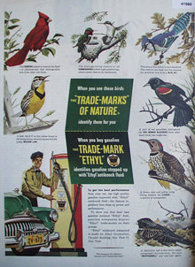 Trade Mark Ethyl Antiknock Compound 1948 Ad