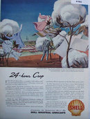 Shell Industrial Lubricants 1947 Ad Dan River