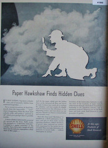 Shell Oil Research 1949 Ad Paper Hawkshaw
